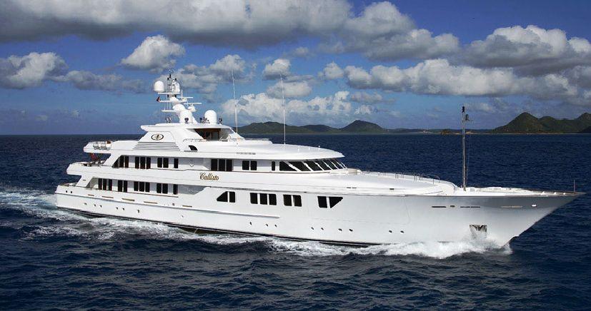65m luxury superyacht Callisto - Photo Credit: Feadship