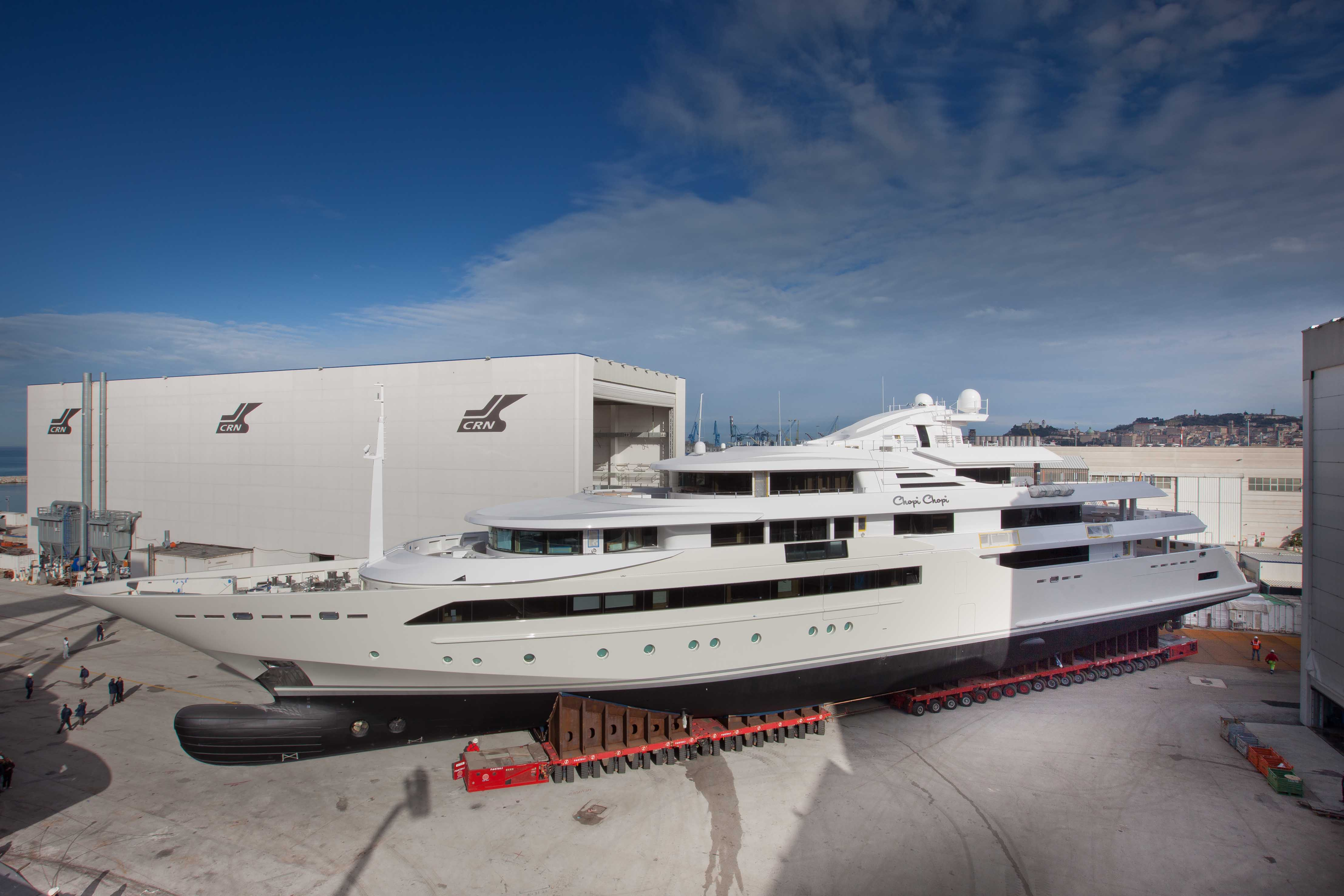 80m megayacht CHOPI CHOPI - the biggest project ever developed by Zuccon International Project