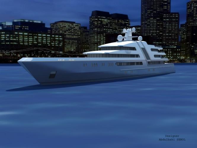 85 m Senol luxury motor yacht design