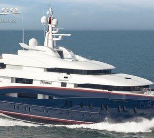Sorgiovanni designed Oceanco mega yacht NIRVANA - latest yacht to reach shortlist of IY&A Awards 2013