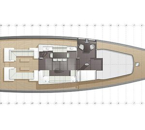 CNB sailing yacht Evoe 100 concept with interior design by Rhoades Young