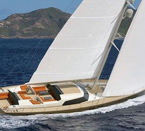 Jongert 3200P Yacht P1113 styled by Rhoades Young Design