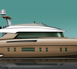 New STORM X-65 and X-78 yacht series designed by Omega Architects and Van Oossanen Naval Architects presented at HISWA Boat Show