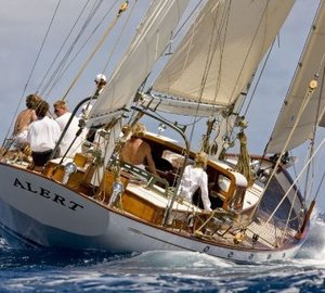 Major refit for 1948 classic sailing yacht ALERT by Claasen Shipyards
