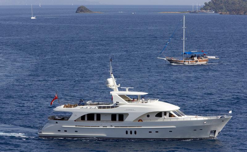 Moonen 97 charter yacht Darsea