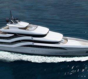 New 77 m motor yacht Project DREAM designed by Selahattin Üldas