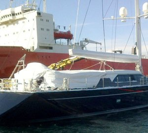 Newly launched Perini Navi superyacht STATE OF GRACE designed in partnership with Ron Holland