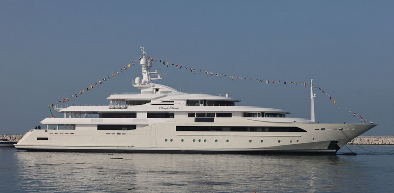 Newly launched CRN 129 megayacht CHOPI CHOPI