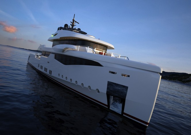 RMK 5000 True Luxury Explorer Superyacht Design by Hot Lab