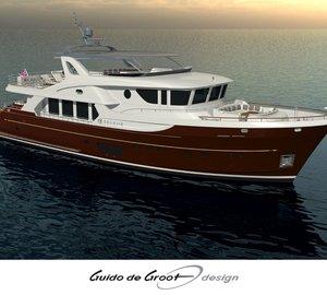 Images of Ocean Explorer Series Yacht Selene 92 Hull Release