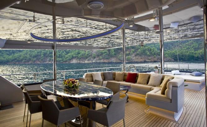 Royal Craft superyacht 60 Years - Aft Deck