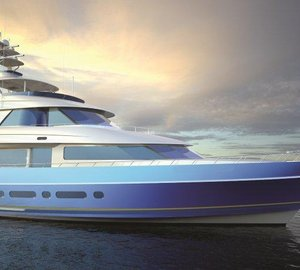 Unique Glass by Glasshape and Alexseal for Nordlund's 115' Sportfisher Yacht