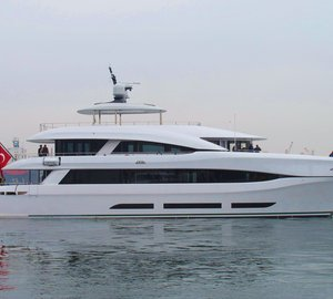 Additional images of 33m Curvelle Yacht QUARANTA launched by Logos Marine