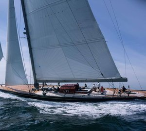J-Class Yacht RAINBOW by Holland Jachtbouw Finalist for 2013 World Superyacht Award