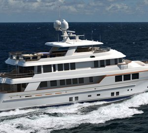 Magnificent 45m RMK Yacht KARIA shortlisted for IY&A Awards 2013