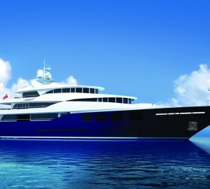 RUEA 60 Yacht Concept reaches shortlist for the 'Yacht Concept Award' at IY&A Awards 2013