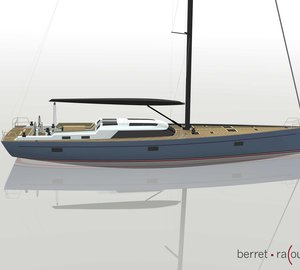 Claasen Shipyards working on 72ft racer/ cruiser sailing yacht BOUGAINVILLE