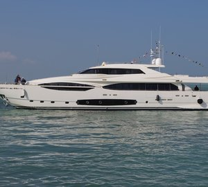 Ferretti Custom Line 124' Hull N°4 Yacht launched