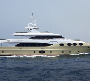 Third Majesty 125 Yacht Launched by Gulf Craft