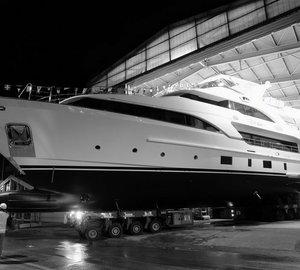 Benetti launch Classic 121 motor yacht DYNA (hull BC129)