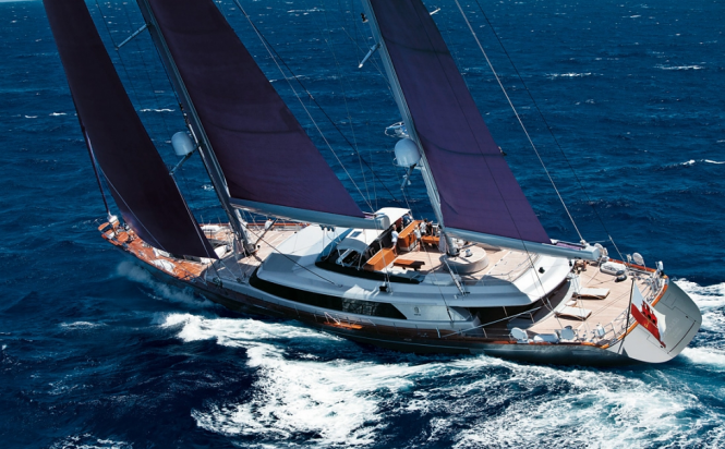 Perini Navi Sailing Yacht Baracuda