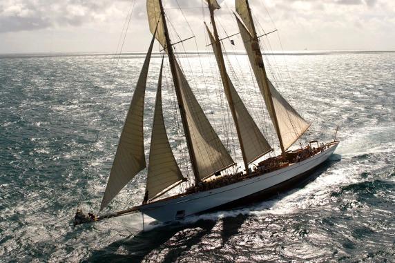 Sailing yacht ADIX - Photo Credit: Pendennis