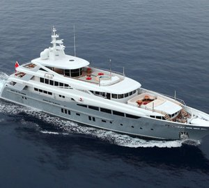 Superyacht 2LADIES by Rossinavi and Mulder Design nominated for ShowBoats Design Awards 2013