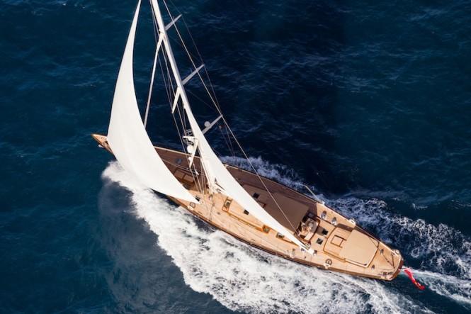 Royal Huisman Pumula Yacht - Cory Silken