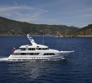 Feadship charter yacht GO to attend Antibes Yacht Show 2013