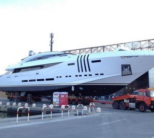 Sea trials for 48m Rossinavi Yacht VELLMARI (Project Ketos)