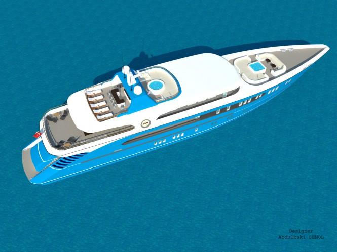 55m Sport Yacht Concept by Abdulbaki Senol