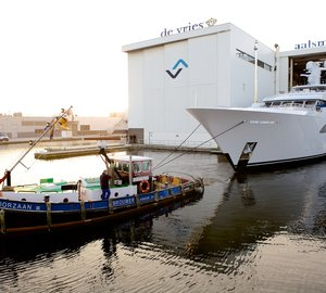 Feadship launch 57m custom motor yacht LARISA