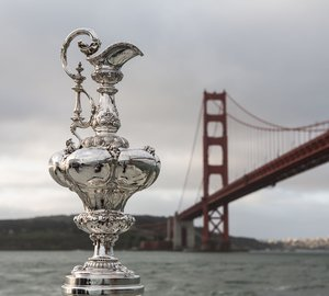America's Cup - San Francisco Trophy © ACEA 2013: Photo Gilles Martin-Raget