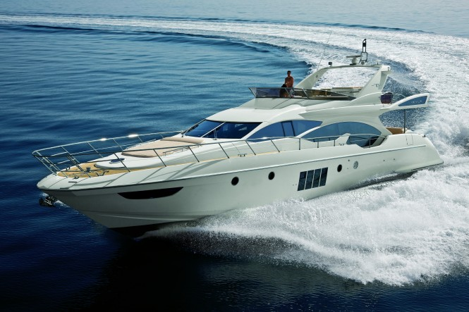 Azimut 70 yacht - the big star of 2nd Confraria Nautica in Brazil