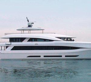 Newly launched 34m Curvelle 'SuperMaran' Yacht QUARANTA