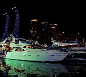 Dubai Boat Show 2013 opened to high visitor turnout