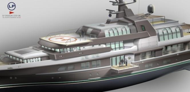 LP Design - Motor Yacht Ocean Atrium