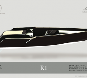 New renderings of LAMBOO R1 yacht tender designed by Peter Symonds from Sigmund Yacht Design