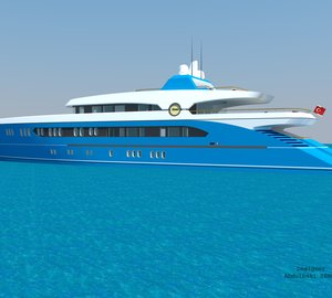 New 55m Sport Yacht Design by Abdulbaki Senol