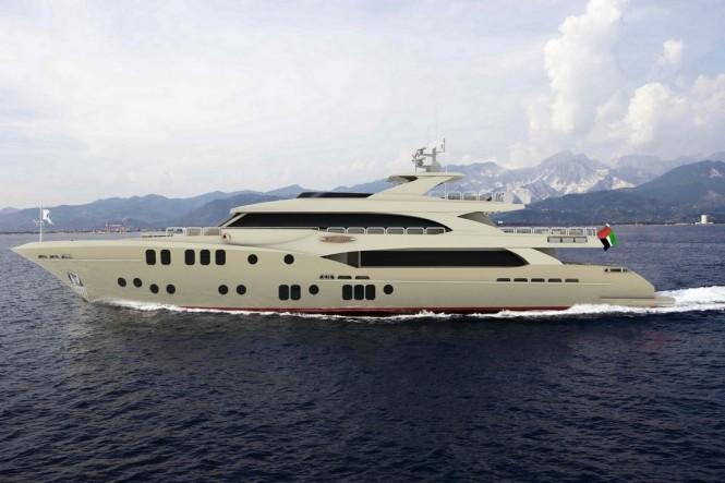 Latest Majesty 155 superyacht by Gulf Craft