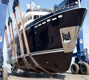 New Darwin Class 96' motor yacht STELLA DI MARE launched by Cantiere delle Marche