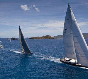 YCCS Virgin Gorda welcomes superyacht fleet for 2013 Loro Piana Caribbean Superyacht Regatta