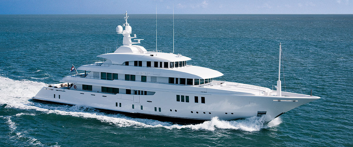 Luxury motor yacht Maidelle by ICON Yachts