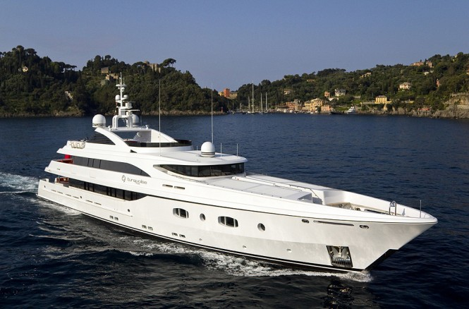 Luxury motor yacht Turquoise confirmed her presence at AYS yacht auction