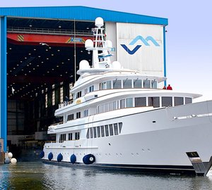 Feadship welcomes home 71m motor yacht UTOPIA for refit