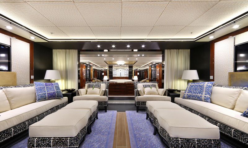Luxury yacht Maidelle - Interior
