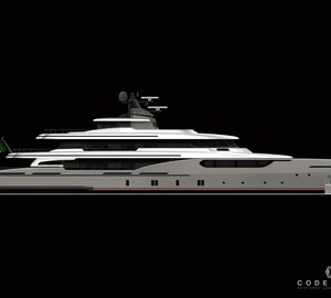 New 50m motor yacht Project Codecasa 50 by Codecasa Shipyards