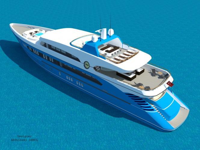 New 55m Sport Yacht Concept by Abdulbaki Senol