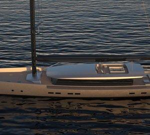 Van Geest Design unveils new 60m OPEN Sailing Yacht Concept