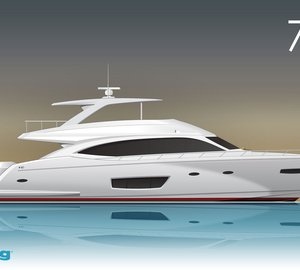New motor yacht Viking 75 by Viking Yachts with delivery in early autumn 2014